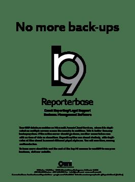 June 2019 ReporterBase ad